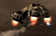 Er-7 in flight