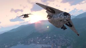 Ka-91 in-flight