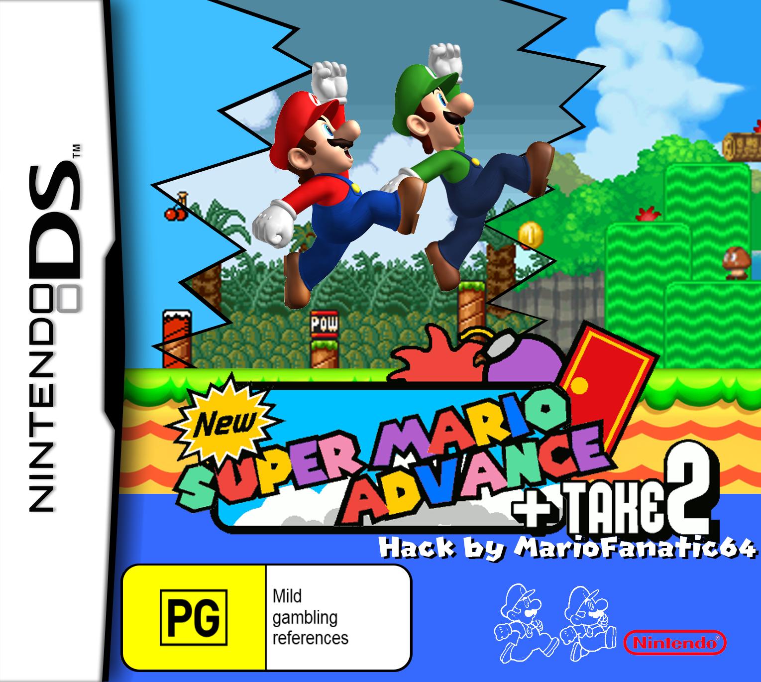 New Super Mario Advance + Take 2 | New Super Mario Bros  DS