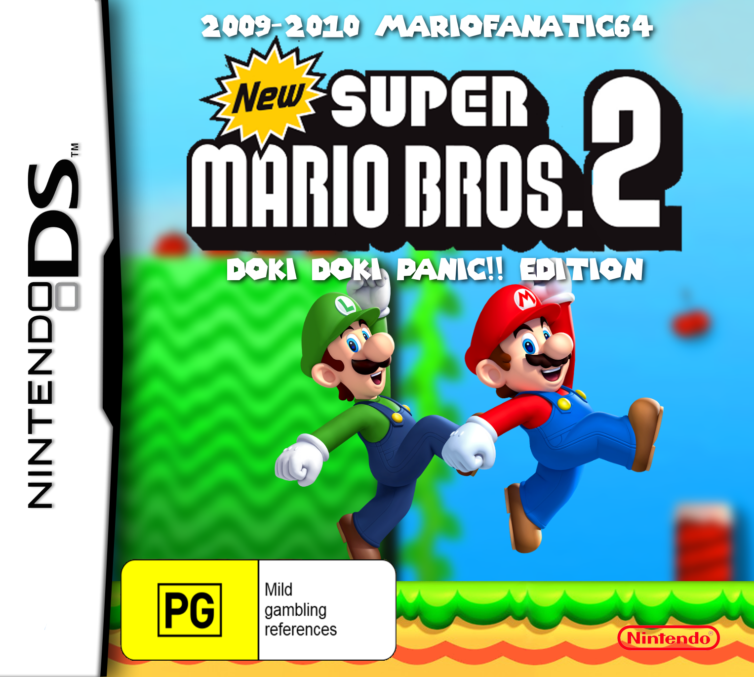 New Super Mario Bros  2: Doki Doki Panic!! Edition | New Super Mario