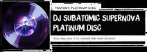 DJSS Platinum disc
