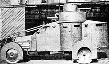 Beyond Horses- several dragoon regiments have been experimenting with armored cars.