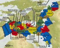 Inoroth Political Map 2 - Regions 2