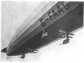 Experiments with Airships carrying Areoplanes have had mixed results