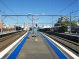 Burwood railway station
