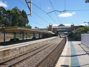 Gosford railway station
