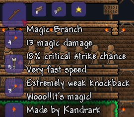 how to get magic weapons in terraria