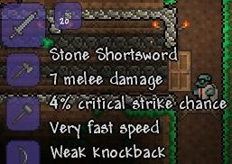 Stone Shortsword