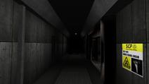 SCP-049 hallway