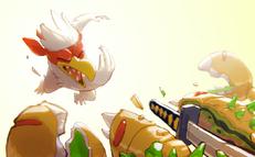 Chickenthrow sm1