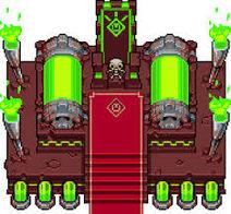 Trono skeleto