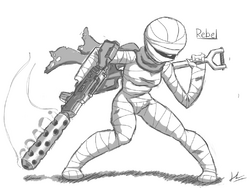 Rebel Sketch