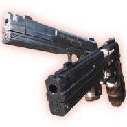 Pistolas de Camila