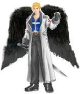 Marco angel de la oscuridad
