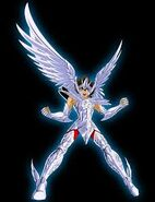 Seiya como Angel del Olimpo