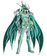 Shiryu con la armadura del Noveno Sentido