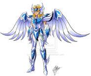 Hyoga armadura mistica nueva versión