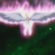 Yuna con alas