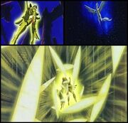 Meteoros Dorados de Pegaso de Seiya