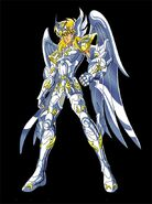 Hyoga armadura divina
