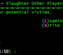 Slaughter Other Players