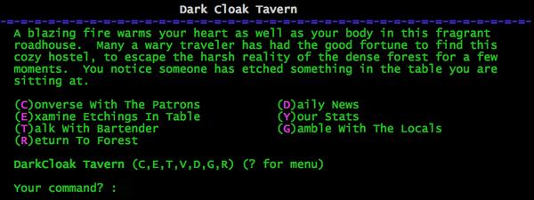 Dark Cloak Tavern