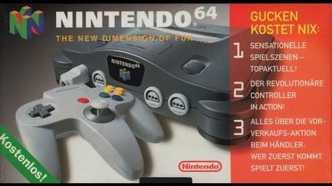 Nintendo 64 - The New Dimension of Fun (1996 Promotion VHS)