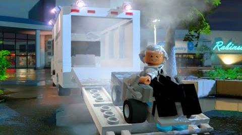 LEGO Dimensions Libyans Kill Doc Brown & Marty Goes Back to the Future Scene