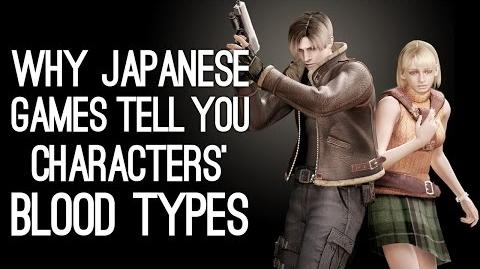 Why Do Japanese Games Tell You Characters' Blood Types?