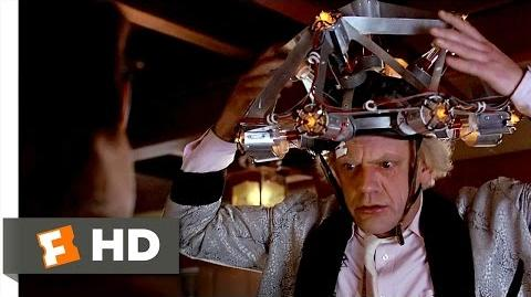 Back to the Future (5 10) Movie CLIP - I'm From the Future (1985) HD