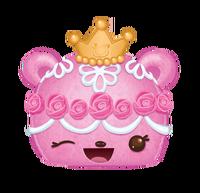 Fancy cake num princess buttercream