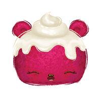 Cupcake Num Red Velvety 121