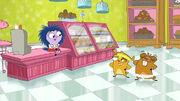 Main characters bakery