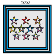 Numberblock 5050 (Numbers 1-100 Added Together)