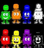 Colorblocks Genders