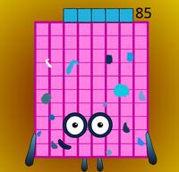 Numberblock 85