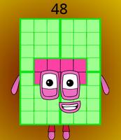 Numberblock 48