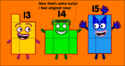 Numberblocks 13, 14, and 15 getting their makeover