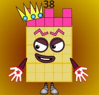 Numberblock 38