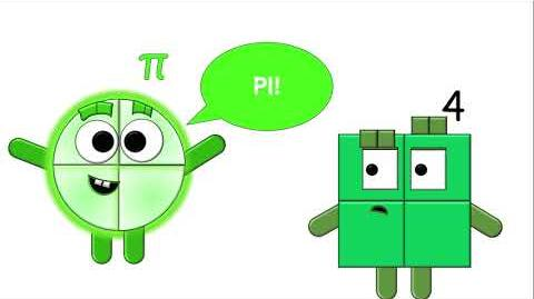 Numberblocks Animation - Half-Pi