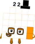 Numberblock 22 (Tungster)