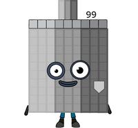Numberblock 99