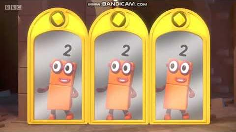 Numberblocks - Mirror, Mirror ❎