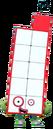 Numberblocks Vector - Eleven (Ten with One More)