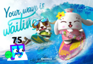 Surfing With Canimals and 75