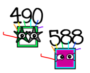 490 and 588