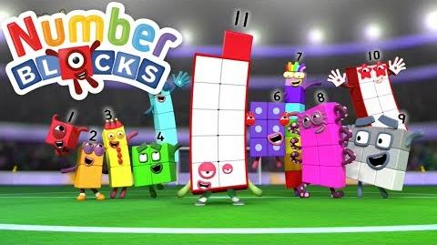Numberblocks - Meet Numberblock 11 Counting to Eleven - New Episode-0
