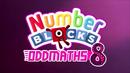 Numberblocks Oddmaths 08 Title