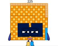 Numberblock 225