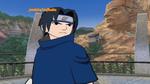 Sasuke encounters an opponent